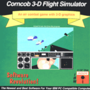 Corncob 3D Retail Shareware Box